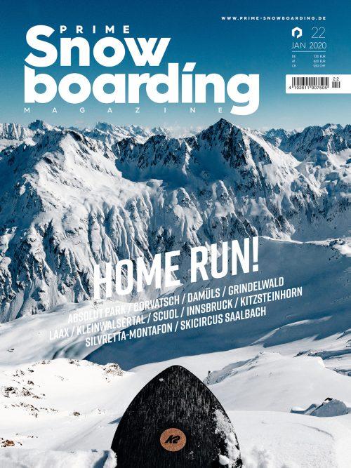 Prime Snowboarding Magazine Dezember 2019