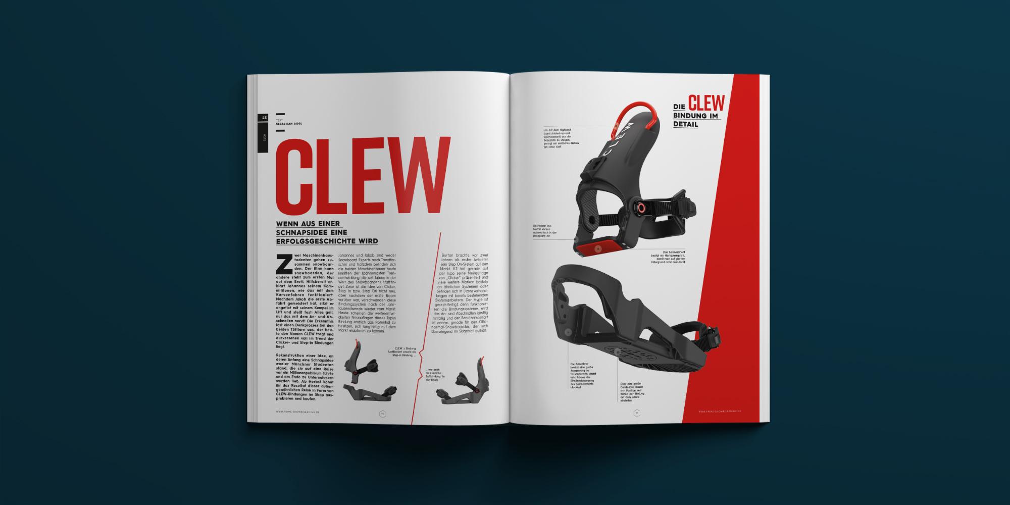 CLEW | PRIME SNOWBOARDING MAGAZINE #23