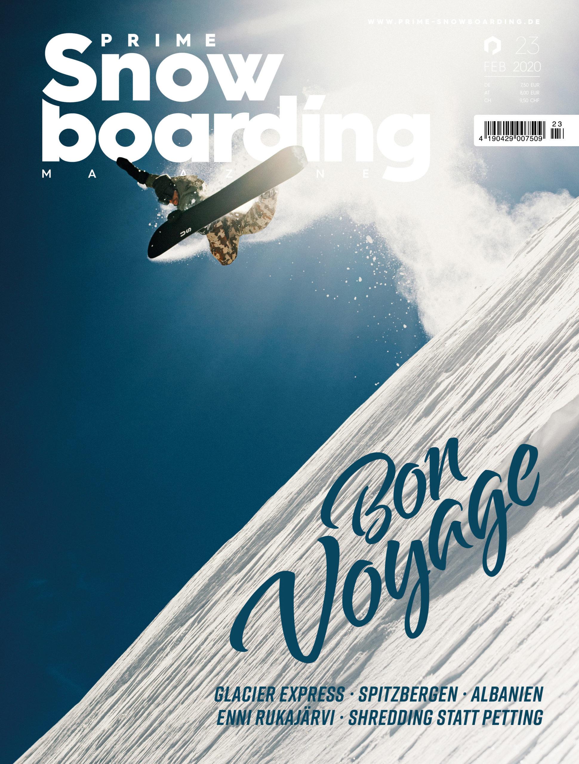 PRIME SNOWBOARDING MAGAZINE #23