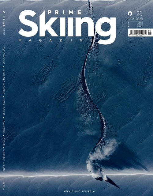 PRIME SKIING MAGAZINE #28 (DEZ 2020) - Cover